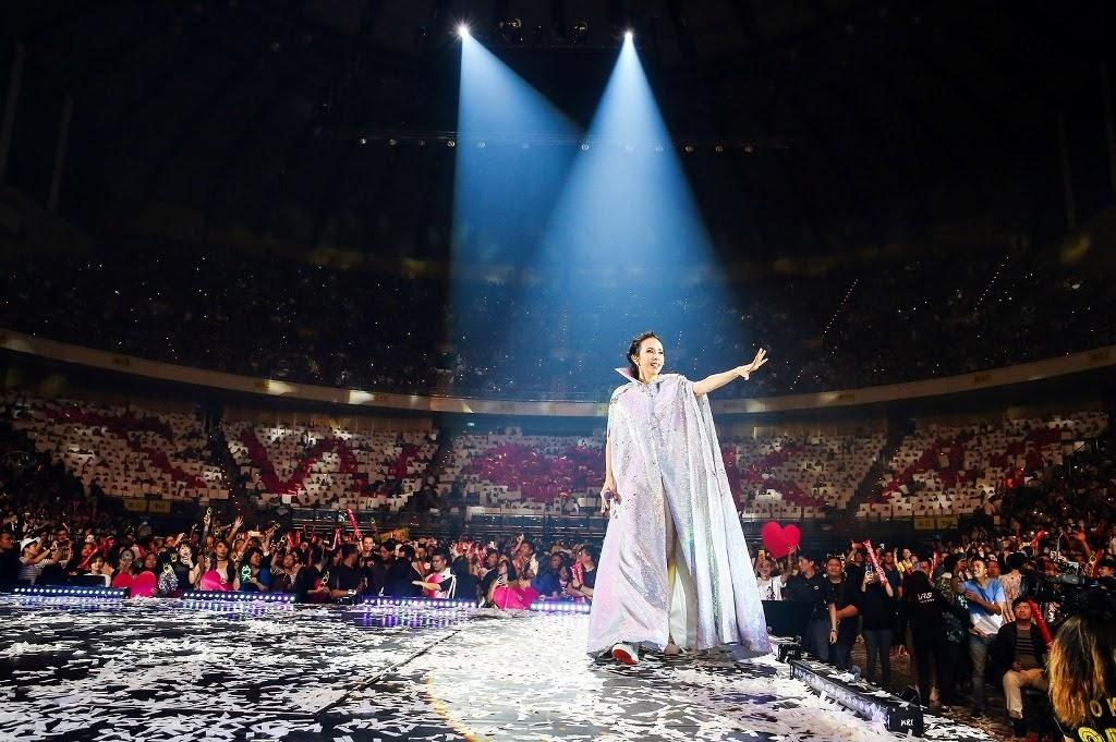 [迷迷音樂] 天后 莫文蔚 拚了! 華語女歌手第一人 挑戰兩天完全不同曲目