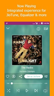 JioMusic - HD Music & Radio- screenshot thumbnail