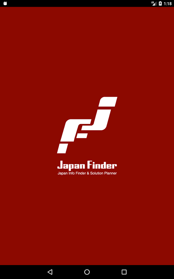 Japan Finder App- screenshot