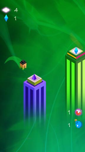 Code Triche Jumpusko - Tower Jumping Game apk mod screenshots 3