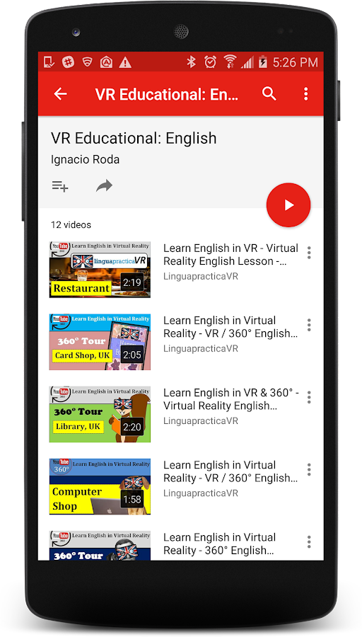 VR Education & learning 360- screenshot