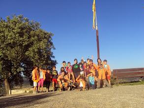 Photo: El C/F al Serrat del Xipell (382m), Sallent.  Primera excursió del C/F d'aquest curs.