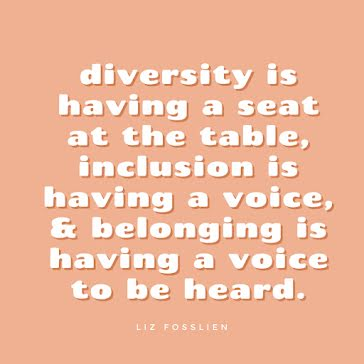 Diversity Inclusion Belong - Instagram Post Template