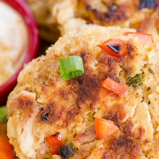 Chicken Cakes with Remoulade Sauce