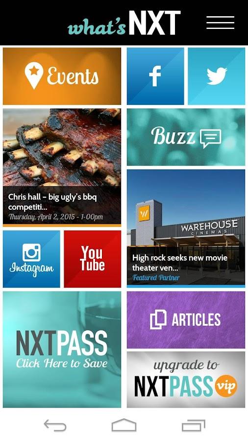 NXTpass by What's NXT - screenshot