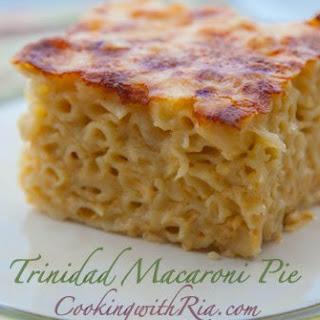 Ria's Trinidad Macaroni Pie.