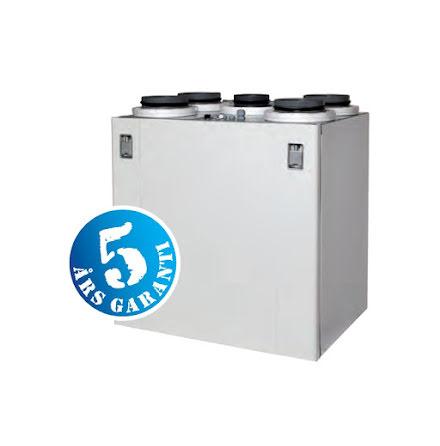 FTX Flexit UNI 3 EC- värmeåtervinning 80 %- Max boyta 220 kvm