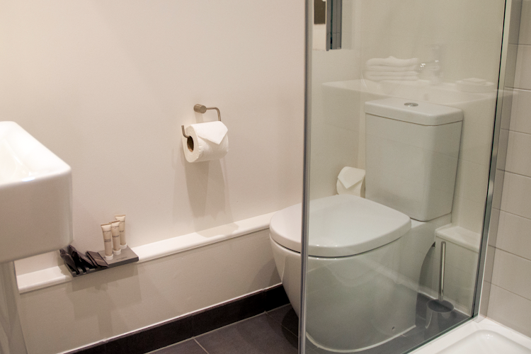 Bathroom at West Street Apartments, Covent Garden