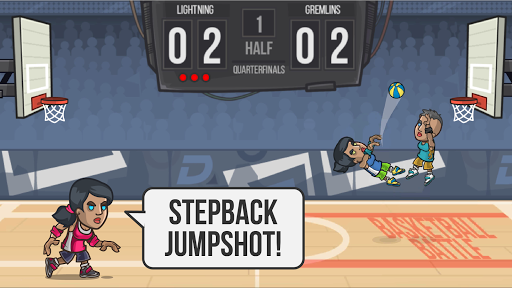 Basketball Battle app (apk) free download for Android/PC/Windows screenshot