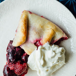 Berry + Cherry Galette