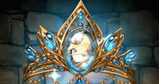 極醒の青龍喚士・ソニア=クレアのティアラ