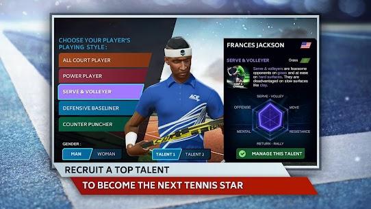 Tennis Manager 2019 MOD Apk 1.15.4356 (Unlimited Money) 2