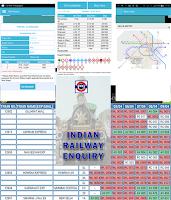 Screenshot of Indian Railway Enquiry