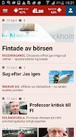 Screenshot of Dagens industri