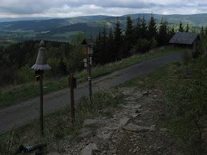 Photo: Rozdroże Pod Obřími skalami. Do Skał Olbrzyma pozostaje ostatnie 500 m.