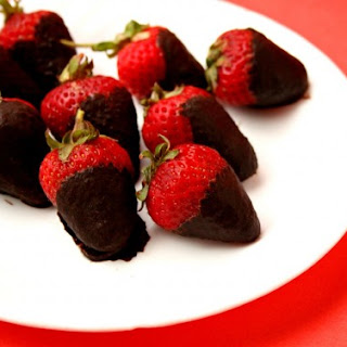 Sugar-Free Chocolate Strawberries
