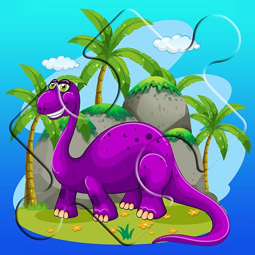 教育App|恐竜ジグソーパズル LOGO-3C達人阿輝的APP