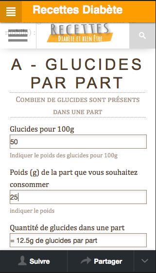 Recettes pour diabétiques- screenshot