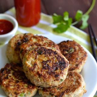 Thai Chicken Patties with Sweet Chili Sauce Recipe