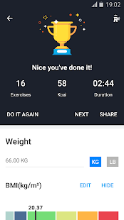 Home Workouts for PC-Windows 7,8,10 and Mac apk screenshot 7