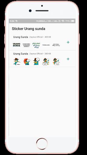 Sunda Stiker Keren WAstickers - Urang Sunda screenshot 1