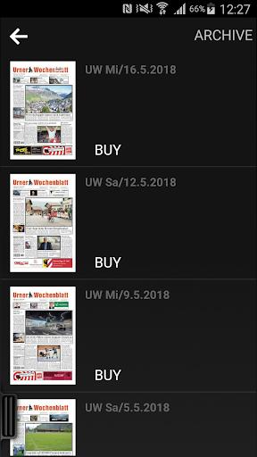 Urner Wochenblatt ePaper
