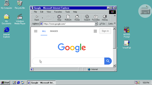 Win 98 Simulator  screenshots 1