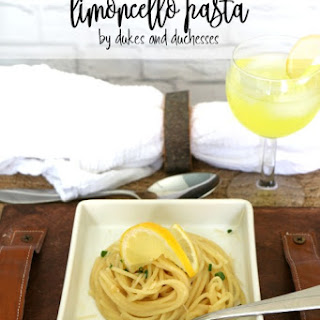 Limoncello Pasta Recipes.