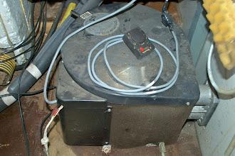 Photo: Den Boiler werden wir definitiv NICHT weiterverwenden...