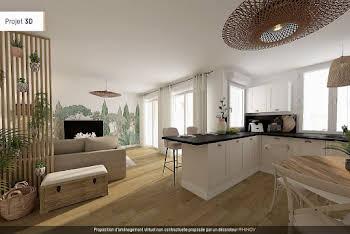 Appartement 3 pièces 73,92 m2