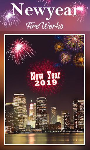 2019 New Year Fireworks Live Wallpaper 1.0.10 screenshots 1