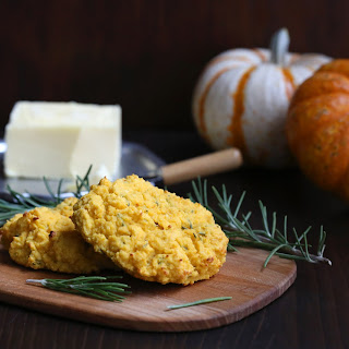Pumpkin Rosemary Biscuits