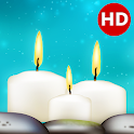 Relaxing Candles: music, sleep, meditation icon