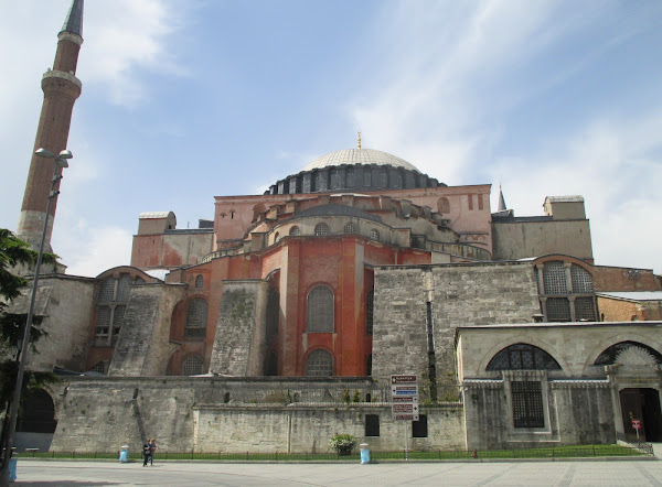 Hagia Sophia Exterior from the East
