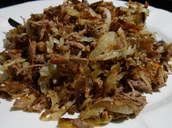 Shredded Beef And Hash Brown Hash