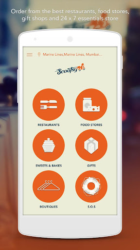 Scootsy- Online Shopping Food