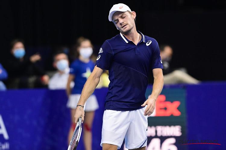 Kwartfinales Monte Carlo zijn het eindstation van David Goffin: Daniel Evans in drie sets te sterk voor onze landgenoot
