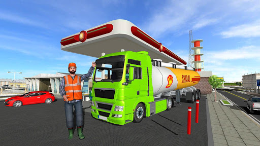 Big Oil Tanker Truck US Oil Tanker Driving Sim screenshots 5