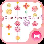 Hình nền xinh xắn Cute Strung Decor Mod