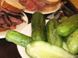 Half Sour Pickles Deli Style