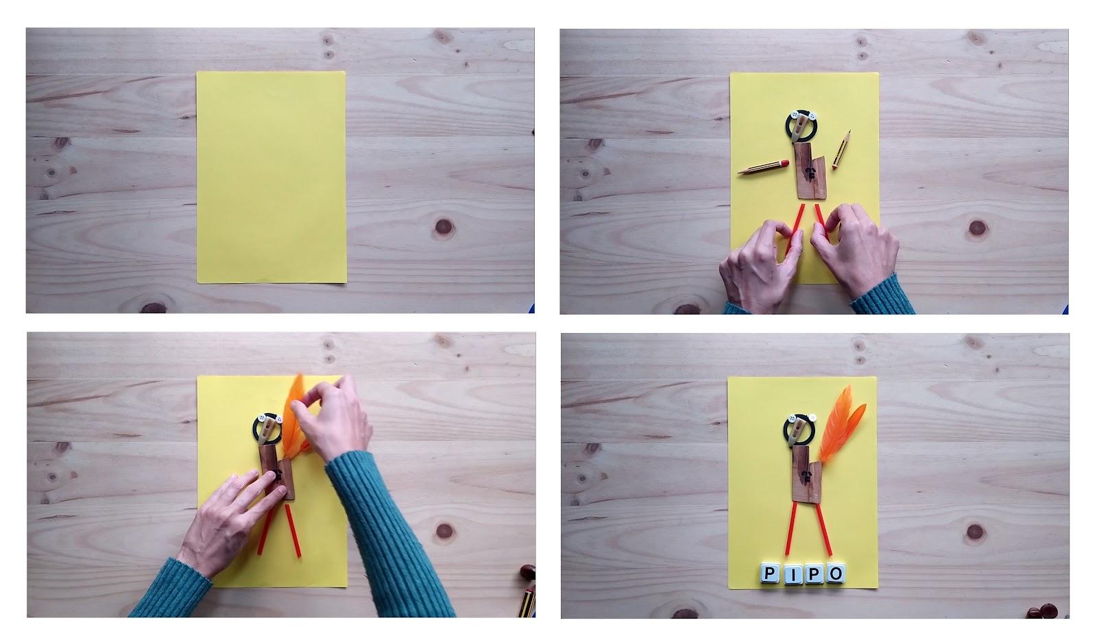 Laboratorio de arte con objetos cotidianos