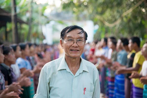 Kyaktiyo, Myanmar, 2014. di Cristhian Raimondi