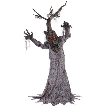 Prop animerad, läskigt träd