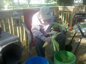 Photo: Harold's chucking corn on the cob