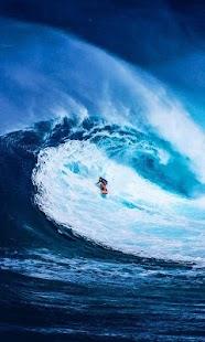 Surfer live wallpaper (surfing, sport, ocean) - náhled