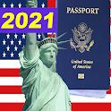 US Citizenship Test 2021 icon