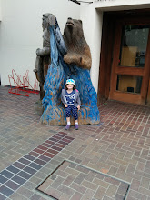Photo: Hijinks Outside of the Hotel in Monterey