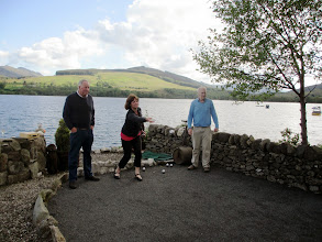 Photo: Playing Petanque at Briar Cottages, Loch Earn ww.stayatbriar.co.uk