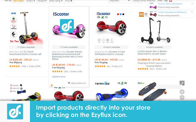 Ezyflux product Importer