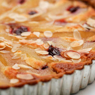 French Pear & Almond Tart.